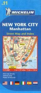 Libro New York City, Manahattan 1:11.000