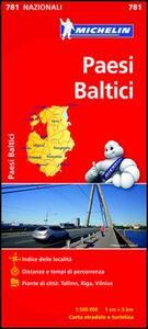 Paesi baltici 1:500.000 - copertina