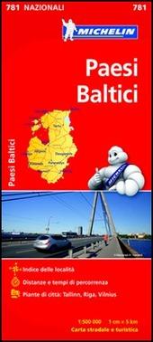 Paesi baltici 1:500.000