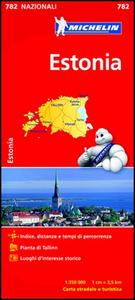Libro Estonia 1:350.000