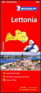 Libro Lettonia 1:350.000