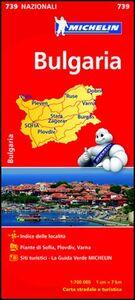 Foto Cover di Bulgaria 1:700.000, Libro di  edito da Michelin Italiana