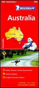 Foto Cover di Australia 1:4.500.000, Libro di  edito da Michelin Italiana