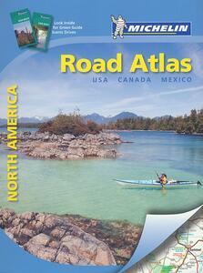 North America. Road atlas. Ediz. a spirale - copertina