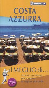 Foto Cover di Costa Azzurra. Con carta stradale, Libro di  edito da Michelin Italiana