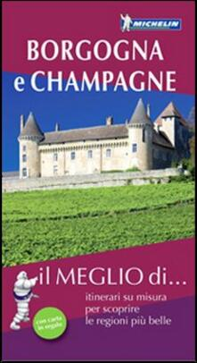 Promoartpalermo.it Borgogna e Champagne. Con carta stradale Image