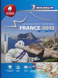 France. Atlas routier et touristique multiplex 2013 1:200.000