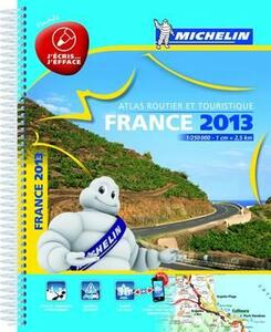 France. Atlas routier et touristique 2013 1:250.000. Ediz. plastificata - copertina