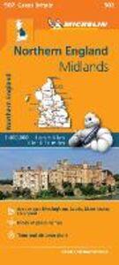 Libro Northern England, Midlands 1:400.000