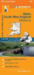 Wales, South West England, Midlands 1:400.000 - copertina