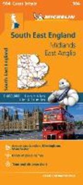 South East England, Midlands, East Anglia 1:400.000