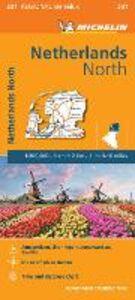 Foto Cover di Netherlands North 1:200.000, Libro di  edito da Michelin Italiana