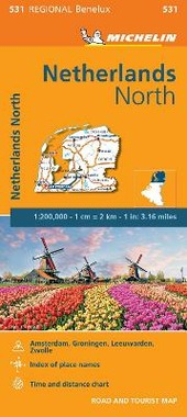 Netherlands North 1:200.000