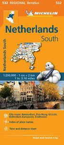 Libro Netherlands South 1:200.000