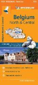 Foto Cover di Belgium North & Central 1:200.000, Libro di  edito da Michelin Italiana