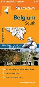 Belgium South 1:200.000