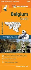Libro Belgium South 1:200.000