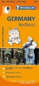 Libro Germany Northeast 1:350.000
