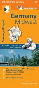 Germany Midwest 1:350.000 - copertina