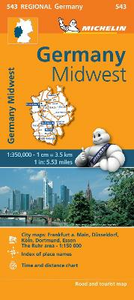 Libro Germany Midwest 1:350.000