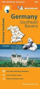 Libro Germany Southeast 1:375.000