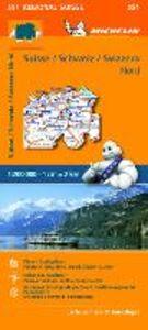 Foto Cover di Suisse-Schweiz-Svizzera Nord 1:200.000, Libro di  edito da Michelin Italiana