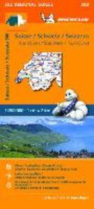 Foto Cover di Suisse-Schweiz-Svizzera Sud-Ovest 1:200.000, Libro di  edito da Michelin Italiana