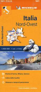 Foto Cover di Italia Nord Ovest 1:400.000, Libro di  edito da Michelin Italiana