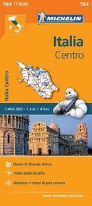 Foto Cover di Italia Centro 1:400.000, Libro di  edito da Michelin Italiana