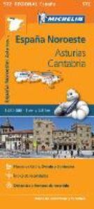 Libro España Noreste. Asturias, Cantabria 1:250.000