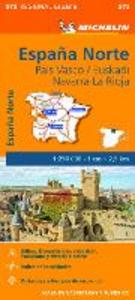 Libro España Norte. País Vasco/Euskadi Navarra, La Rioja 1:250.000