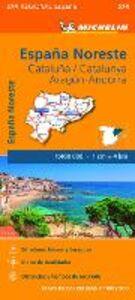 Libro España Noreste. Cataluña/Catalunya. Aragón. Andorra. 1:400.000