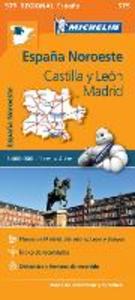 Libro España Noreste. Castilla y Léon, Madrid 1:400.000