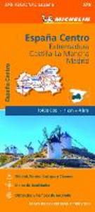 Libro España Centro. Extremadura. Castilla-La Mancha. Madrid. 1:400.000