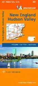 New England, Hudson Valley 1:500.000 - copertina
