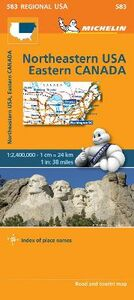 Foto Cover di Northeastern USA, Eastern Canada 1:2.400.000, Libro di  edito da Michelin Italiana