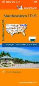 Southeastern USA. 1:2.400.000