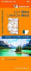 Foto Cover di USA West, Canada West 1:2.400.000, Libro di  edito da Michelin Italiana