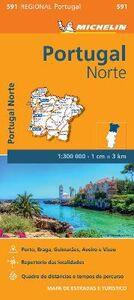 Libro Portugal norte 1:300.000