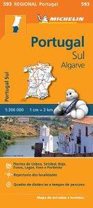 Libro Portugal sul. Algarve 1:300.000