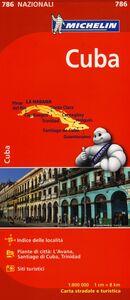 Foto Cover di Cuba 1:800.000, Libro di  edito da Michelin Italiana