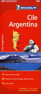 Foto Cover di Cile, Argentina 1:2.000.000, Libro di  edito da Michelin Italiana