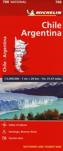 Grandtoureventi.it Chile-Argentina. Carta 1:2.000.000 Image