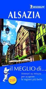 Alsazia. Con carta stradale - copertina