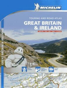 Libro Great Britain & Ireland. Touring and road atlas 1:300.000