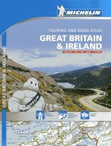 Listadelpopolo.it Great Britain & Ireland. Touring and road atlas 1:300.000. Ediz. a spirale Image