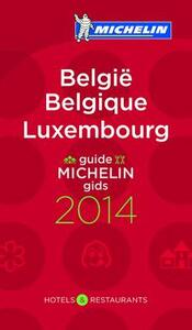 Belgio. Lussemburgo 2014. La guida rossa. Ediz. inglese, tedesca, francese e olandese - copertina