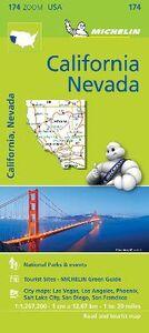 Foto Cover di California-Nevada 1:1.267.200. Ediz. inglese, Libro di  edito da Michelin Italiana