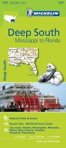 Libro Deep South. Mississippi to Florida 1:1.267.200