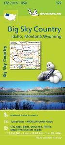 Big sky country. Idaho, Montana, Wyoming 1:1.267.200 - copertina